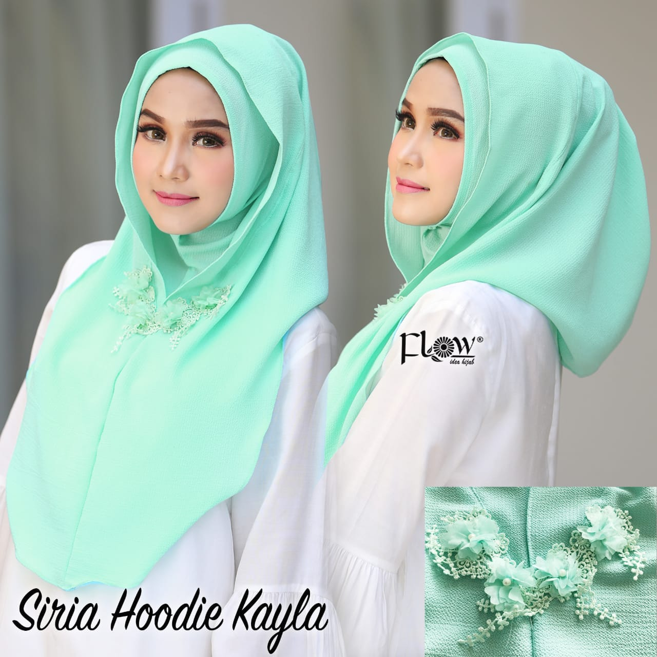 Buy Instant hoodie hijab Online from Hiba Hijab. Online Shopping Website Pakistan | www.sastidukan.com