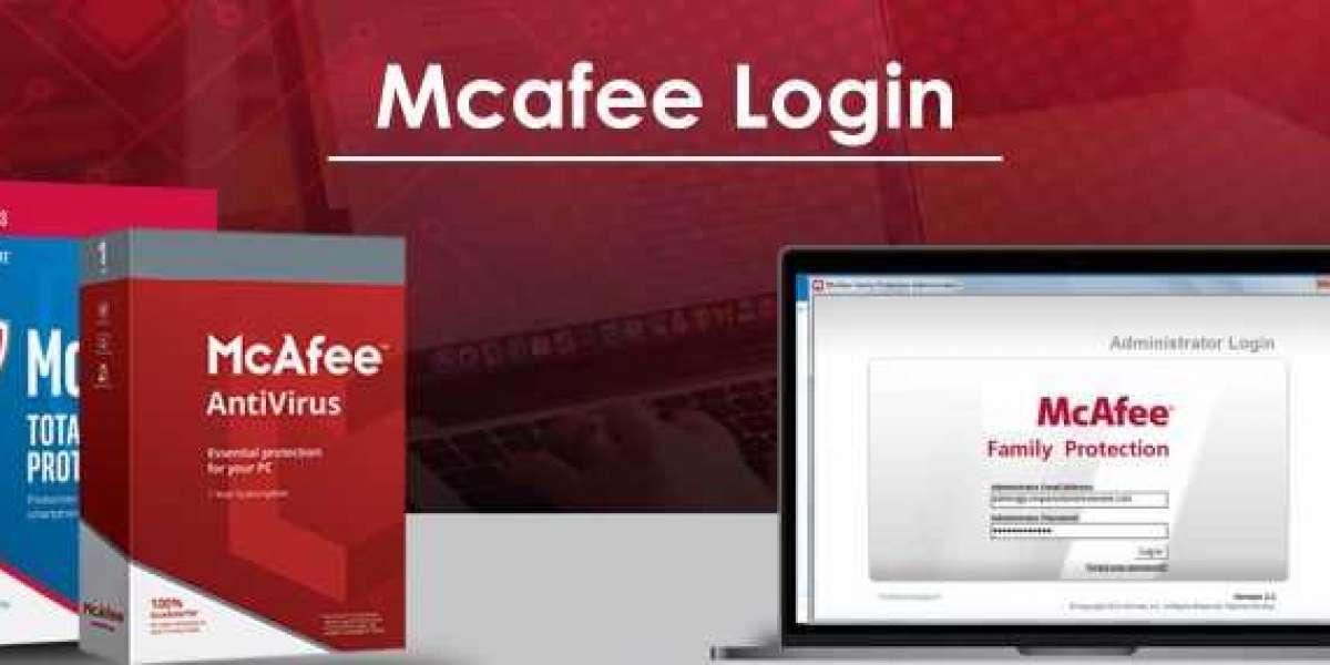 How to I create a McAfee login account?